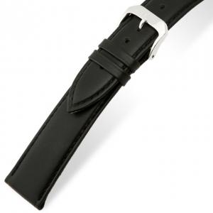 Rios Toscana Horlogebandje Kalfsleer Zwart
