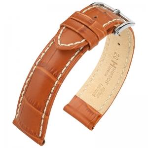 Hirsch Modena Horlogebandje Alligatorgrain Honing