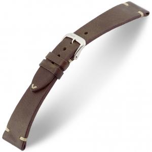 Rios Bedford Horlogebandje Vintage Leer Mokka