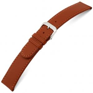 Rios Ecco Horlogebandje Rundsleer Cognac