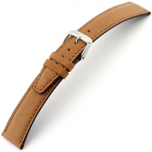 Rios Tobacco Horlogebandje Varkensleer Cognac