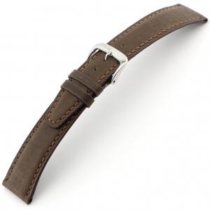 Rios Tobacco Horlogebandje Varkensleer Bruin