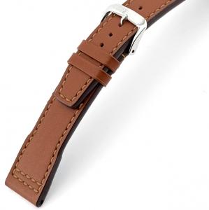 Rios Scirocco Horlogebandje voor IWC Kalfsleer Cognac