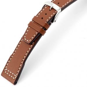 Rios Blizzard Horlogebandje voor IWC Kalfsleer Cognac