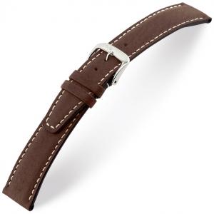 Rios Havana Horlogebandje Varkensleer Bruin