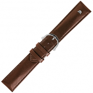 Maurice Lacroix Horlogeband Kalfsleer Bruin