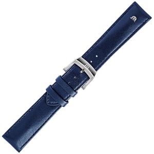 Maurice Lacroix Eliros Easychange Horlogeband Kalfsleer Blauw