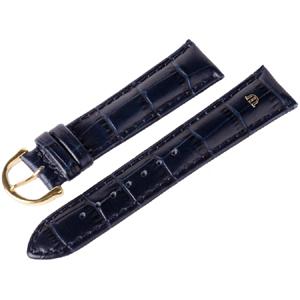 Maurice Lacroix Horlogeband Louisiana Kroko-Kalf Donkerblauw 20mm