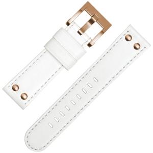 TW Steel Horlogebandje CE1035, CE1036 Wit 22mm