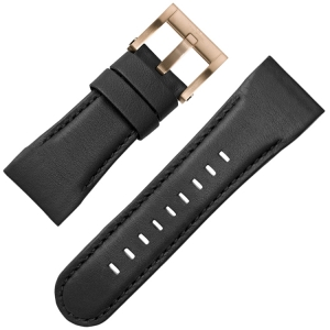 TW Steel Horlogebandje CE3012 Zwart 30mm