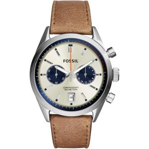 Fossil CH2952 Horlogeband Bruin Leer