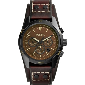 Fossil CH2990 Horlogeband Bruin Leer