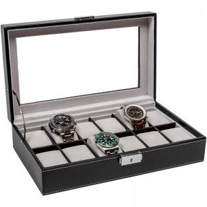 La Royale Classico 12 Horlogebox met Venster - 12 horloges