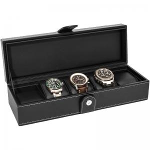La Royale Classico 5 Horlogebox Zwart- 5 horloges