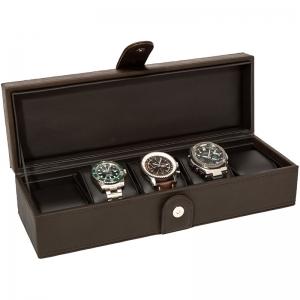 La Royale Classico 5 Horlogebox Bruin - 5 horloges