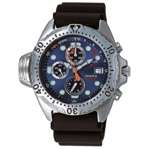 Citizen Promaster AY5000-05L Horlogeband Zwart - 20mm