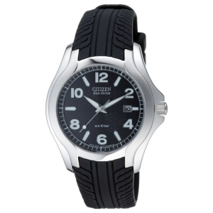 Citizen Eco-Drive BM6530-04 Horlogeband Zwart Autobandprofiel