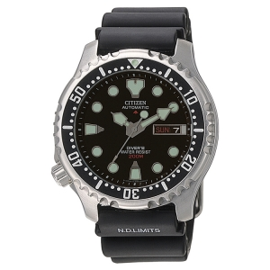 Citizen Promaster NY0040-09EE Horlogeband Zwart - 20mm