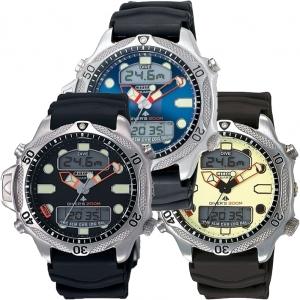 Citizen Promaster Aqualand JP1010-00 Horlogeband Zwart - 20mm