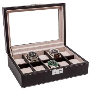 La Royale Duro Horlogebox met Venster - 10 horloges