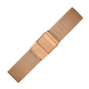 Daniel Wellington 14mm Classic Petite Melrose Mesh Horlogebandje Rose