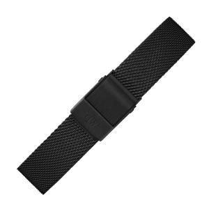 Daniel Wellington 14mm Classic Petite Ashfield Mesh Horlogebandje Zwart