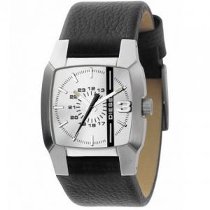 Diesel DZ1089 Horlogeband Zwart Leer