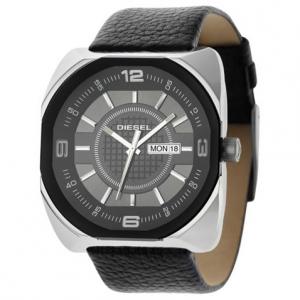 Diesel DZ1117 Horlogeband Zwart Leer