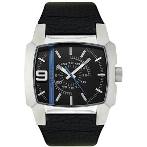 Diesel DZ1131 Horlogeband Zwart Leer