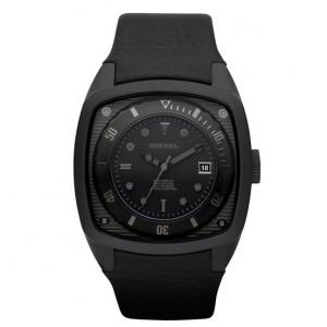 Diesel DZ1492 Horlogeband Zwart Leer