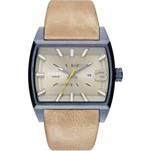 Diesel DZ1703 Horlogeband Beige Leer