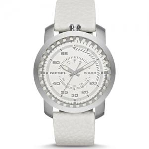 Diesel DZ1752 Horlogeband Wit Leer