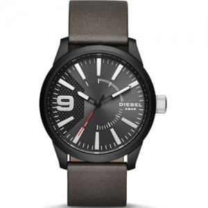 Diesel DZ1776 Horlogeband Grijs Leer
