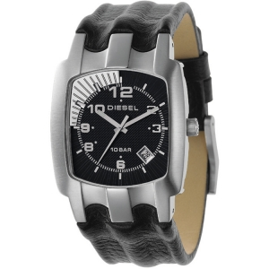 Diesel DZ4118 Horlogeband Zwart Leer