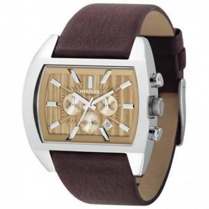Diesel DZ4139 Horlogeband Bruin Leer