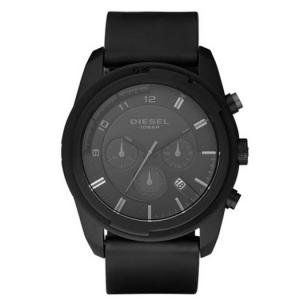 Diesel DZ4211 Horlogeband Zwart Rubber