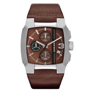 Diesel DZ4274 Horlogeband Bruin Leer