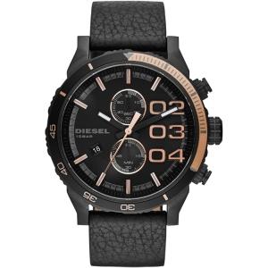 Diesel DZ4327 Horlogeband Zwart Leer