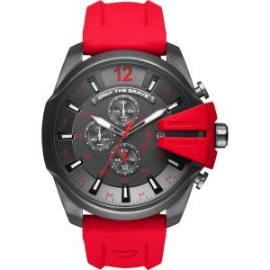 Diesel DZ4427 Horlogeband Rood Rubber
