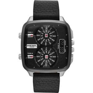 Diesel DZ7302 Horlogeband Zwart Leer