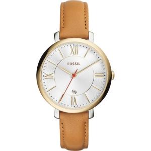 Fossil ES3737 Horlogeband Bruin Leer