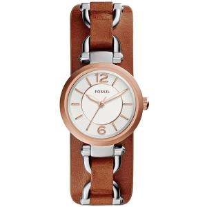 Fossil ES3855 Horlogeband Bruin Leer