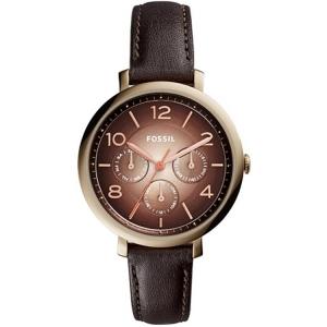 Fossil ES3898 Horlogeband Bruin Leer