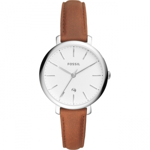 Fossil Jacqueline ES4368 Horlogeband Bruin Leer