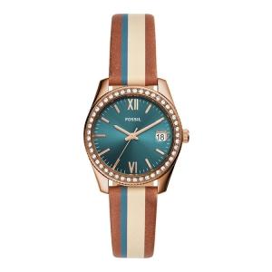Fossil ES4593 Horlogeband Bruin Multicolor Leer
