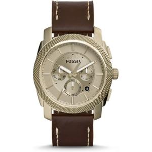 Fossil FS5075 Horlogeband Bruin Leer