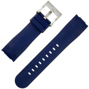 TW Steel Horlogebandje GS4 Grandeur Sport Yamaha Racing Blauw Rubber 24mm