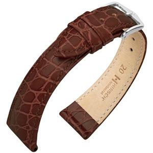 Hirsch Aristocrat Horlogebandje Crocograin Bruin