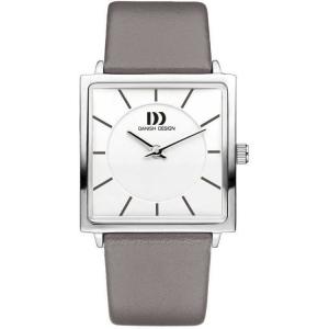Horlogeband Danish Design IV14Q1058 18mm Grijs Leer