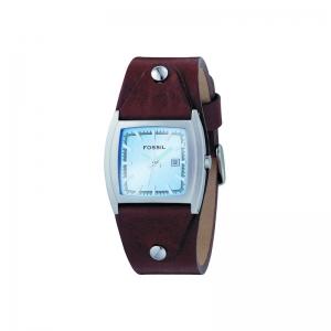 Fossil JR8133 Horlogeband Bruin Leer